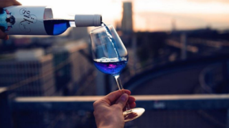 Blue Wine Is Now a Thing You Can Drink