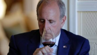 Former US ambassador to New Zealand Mark Gilbert, along with many of his countrymen, has a nose for a good wine. He attended a tasting of New Zealand and French pinot noir last year.