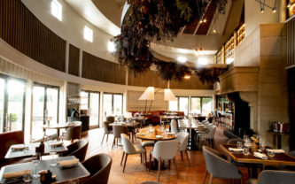 The award-winning Craggy Range Restaurant