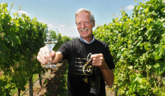Tim Coney of Coney Wines in Martinborough. Photo: Loren Dougan/Fairfax media.